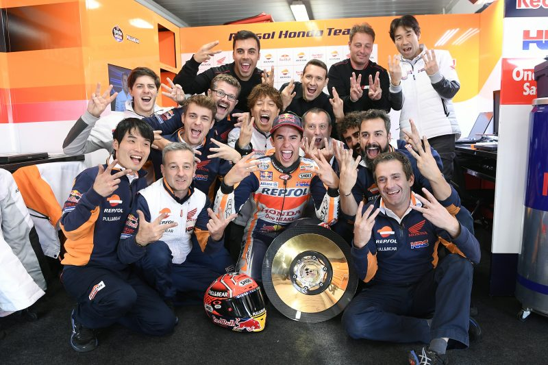 Marc Marquez takes a momentous victory at dry Phillip Island
