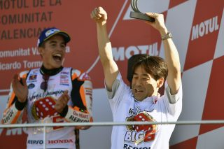 Marquez and Kuwata san