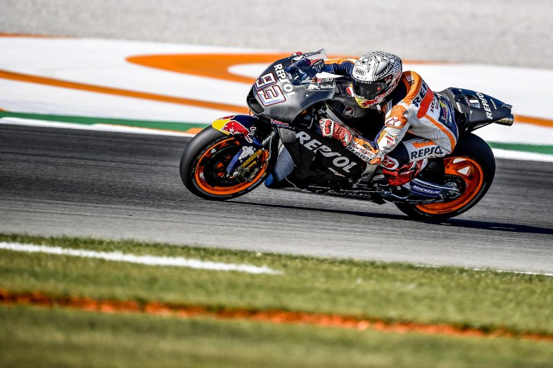2018 season gets underway for the Repsol Honda Team, with the first of two days of testing completed in Valencia