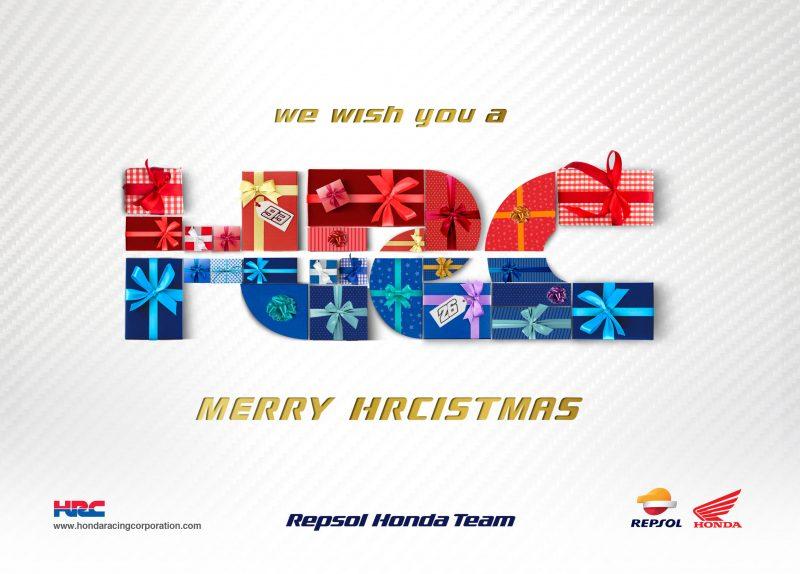 Season Greetings from the Repsol Honda Team