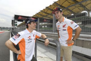 Marquez and Pedrosa Sepang 2018
