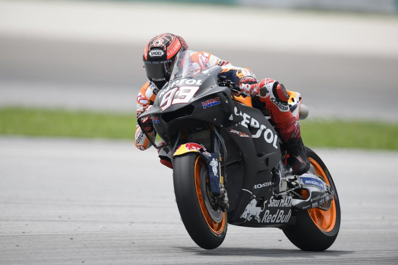 Testing continues in Sepang for Marc Marquez and Dani Pedrosa