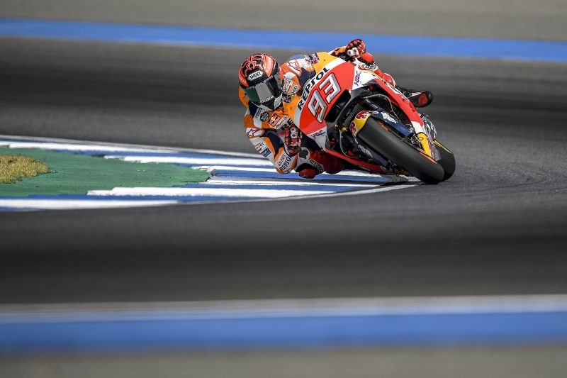 Marquez and Pedrosa up to speed while getting first taste of Buriram Circuit