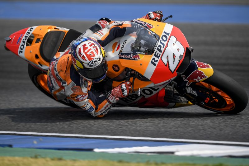 Pedrosa sets the fastest time in Buriram, Marquez shows the best pace