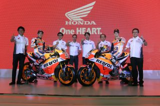 Repsol Honda Team and Astra Honda