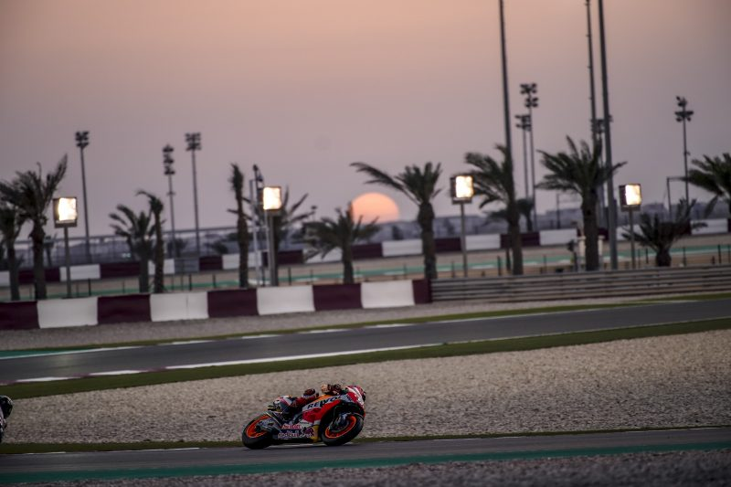 Productive day of testing for Repsol Honda Team in Qatar