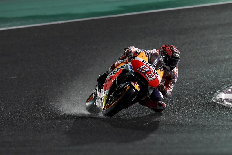 Marquez and Pedrosa finish final pre-season test in Qatar