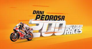 Pedrosa 200 motogp races