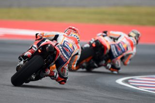 Marquez and Pedrosa - Argentina GP