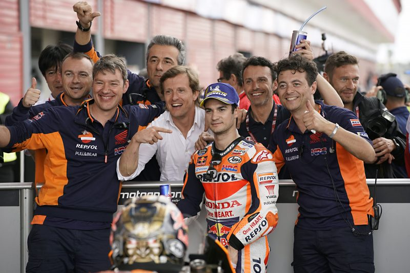 Dani Pedrosa second fastest in Argentina with Marc Marquez on second row