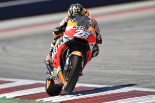 Dani Pedrosa - Austin race