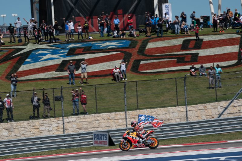 Marquez remains unbeaten at COTA, impressive Pedrosa takes seventh