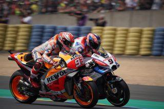 Marc Marquez and Danilo Petrucci - French GP