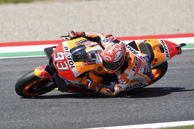 Close second-row start for Marquez in Mugello, tough qualifying for Pedrosa