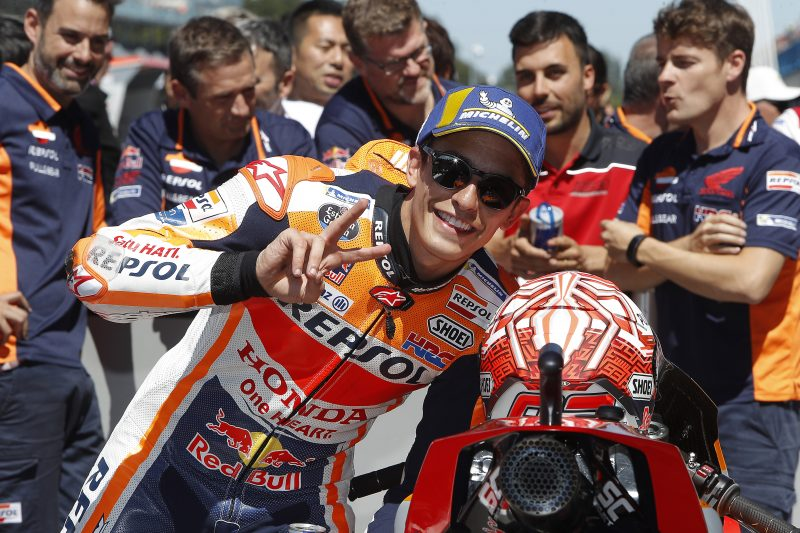 Career pole number 75 for Marquez in Assen, tough qualifying for Pedrosa