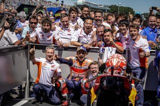 Marquez and Team - Dutch GP