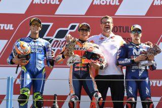 Rins, Marquez and Vinales - Dutch GP