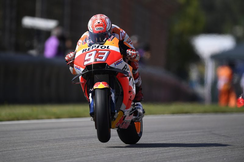 Repsol Honda begin action at Sachsenring with mixed results