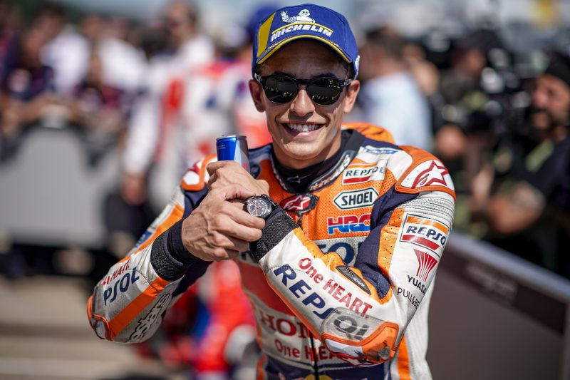 Marquez does it again: ninth consecutive pole at Sachsenring. Pedrosa improves to 10th