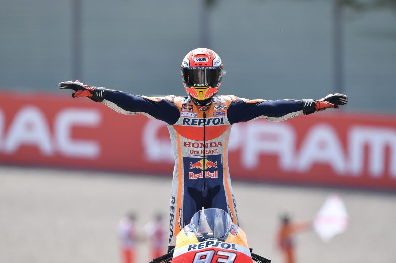Marc Marquez once again rules at the 'Ring
