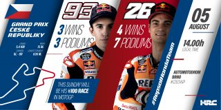 Repsol Honda Team CzechGP Preview Stats