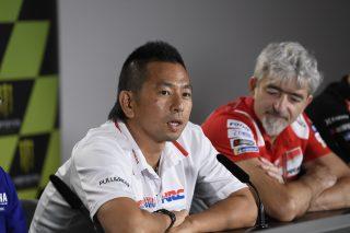 Takeo Yokoyama and Gigi Dall'Igna