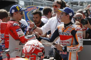 Jorge Lorenzo and Marc Marquez - Austrian GP
