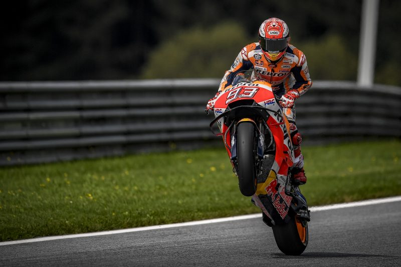 Marquez increases his points lead, taking hard-fought 2nd in Austria; Pedrosa in 7th place