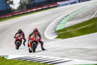 Marc Marquez and Dani Pedrosa - British GP