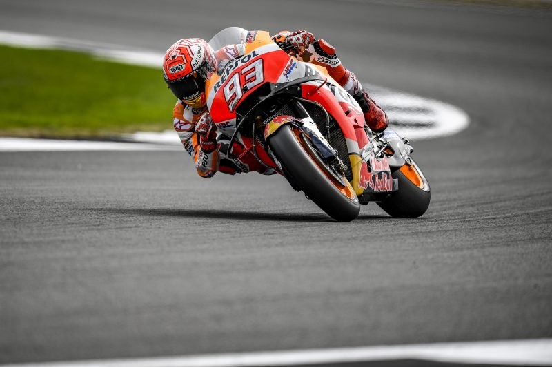 Marquez and Pedrosa begin action at Silverstone