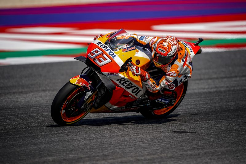 Close second-row start for Marquez in Misano, Pedrosa on 4th row