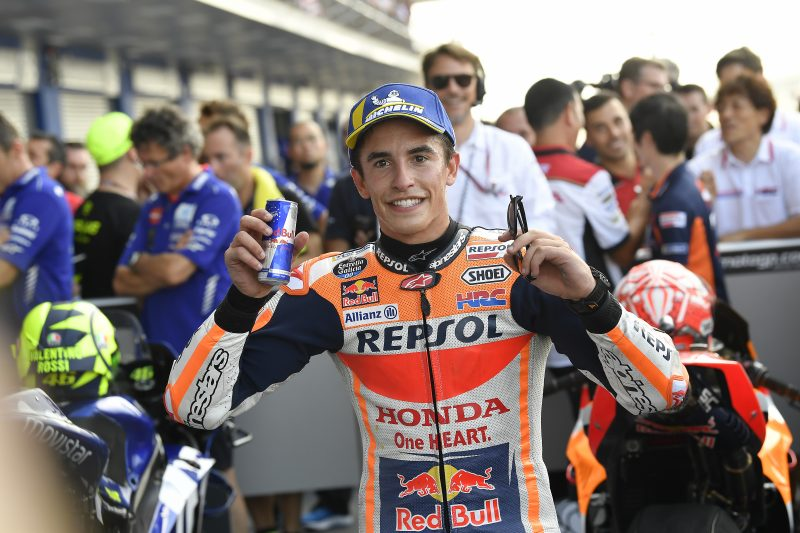 Marquez makes history in Thailand as the first rider to take pole from Q1; Pedrosa in close seventh