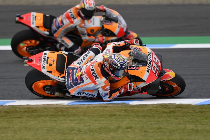 Repsol Honda Team starts preparations for Japanese Grand Prix in mixed weather conditions
