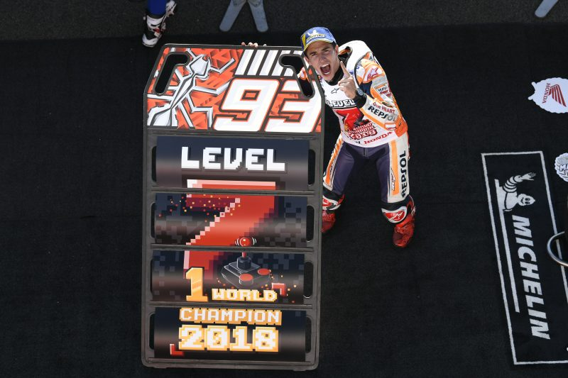 Face-to-face with 2018 MotoGP World Champion Marc Marquez
