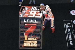 2018 MotoGP World Champion Marc Marquez