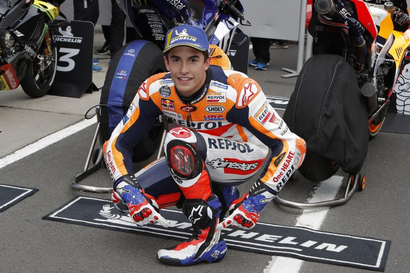 Marquez masters tricky weather conditions to earn fifth consecutive Phillip Island Pole