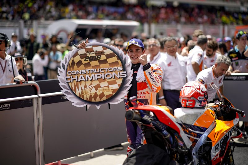 Marc Marquez dominant 70th career win in Malaysia earns Honda the 2018 MotoGP Constructors Title