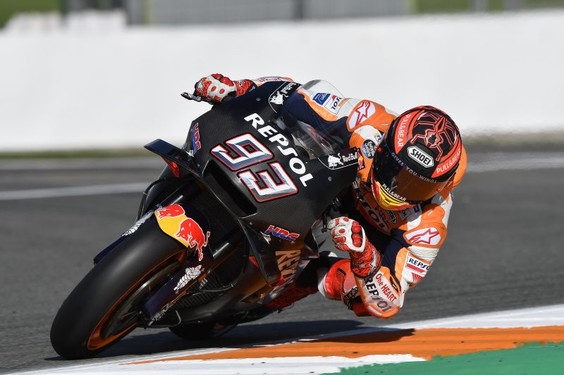 Repsol Honda Team kick off 2019 season with the first of two days of testing at Valencia