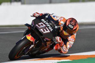 Marc Marquez - Valencia test