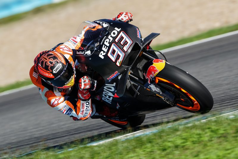 Repsol Honda Team satisfied with a productive first day of testing in Jerez