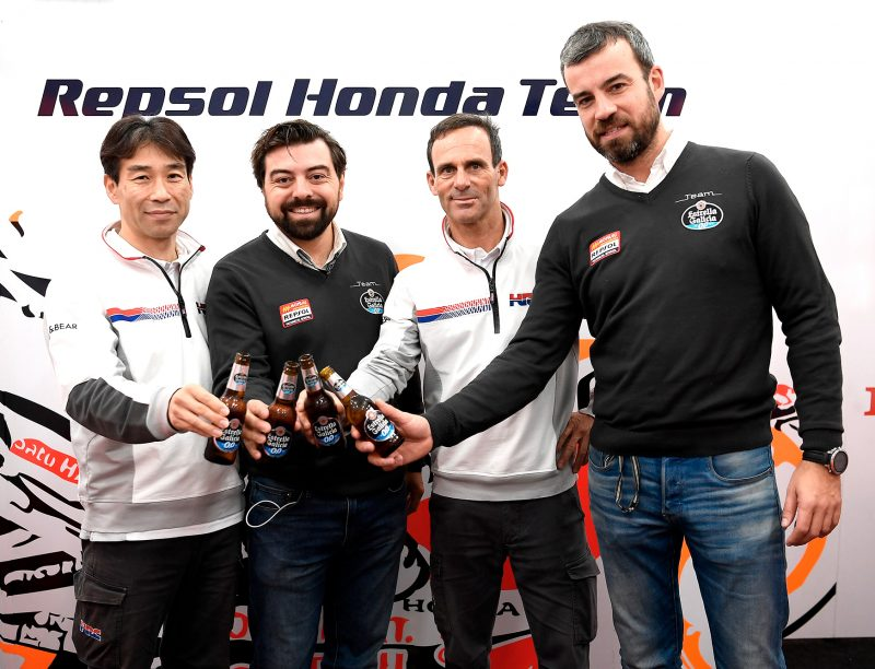 HRC extend partnership with Estrella Galicia 0,0