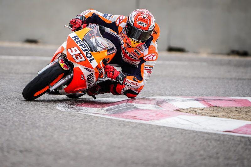 Marquez rides again