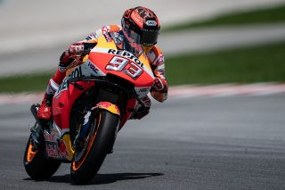 Marquez in Sepang