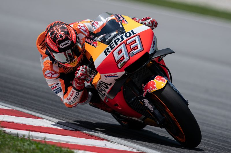 Marquez fastest on day one in Sepang