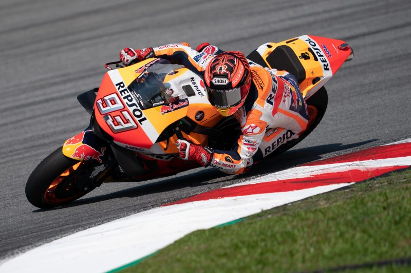 Productive day two in Sepang for Marc Marquez
