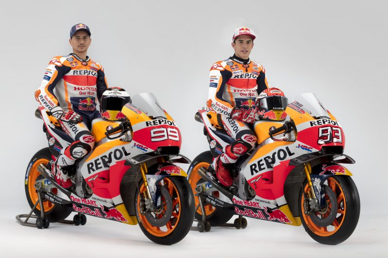 Repsol Honda Team show off 2019 colours