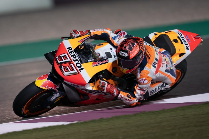 Full Repsol Honda Team resume testing program in Qatar