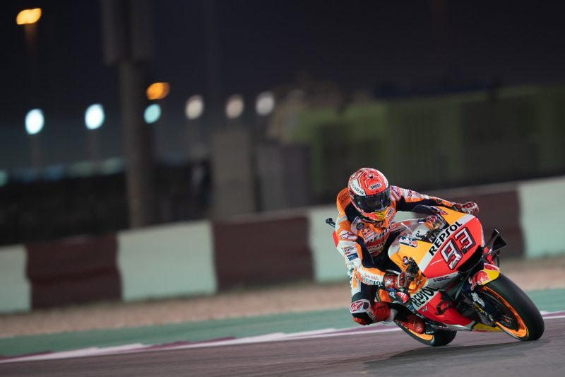 Marquez leads Friday practice with record pace, adapting Lorenzo 11th
