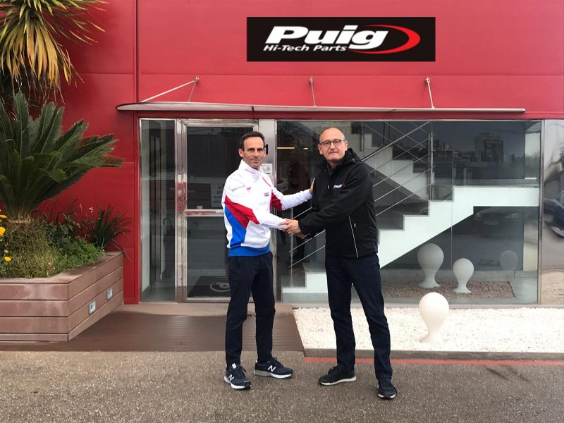 HRC and Puig Hi-Tech Parts to continue successful relationship