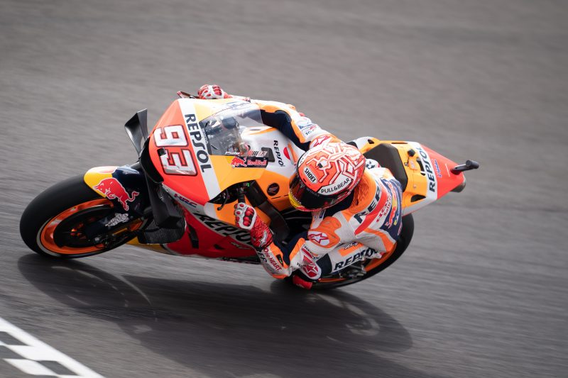 Marquez fast from first Friday run as Lorenzo builds his speed